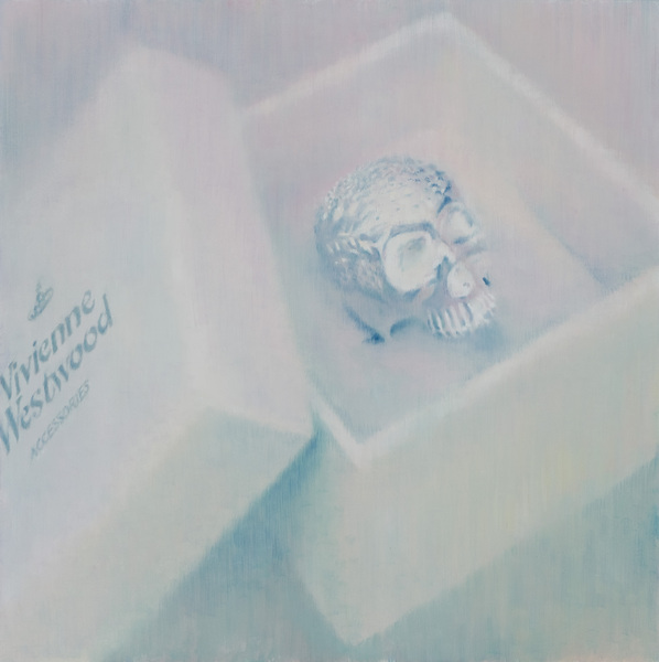 Accessory box, 90x90, oil on canvas, 2012