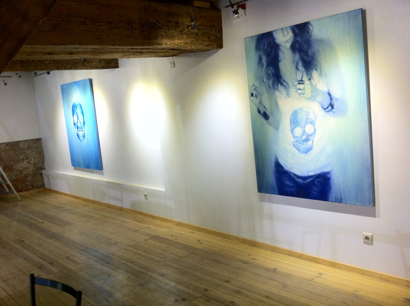 Exhibition view, Symbol of Illusion, Bastejs Gallery