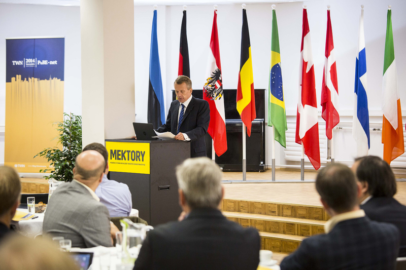Mr Jürgen Ligi, Minister of Finance - Official opening in Innovation and business center MEKTORY, September 08