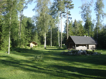 Cabin and sauna-building