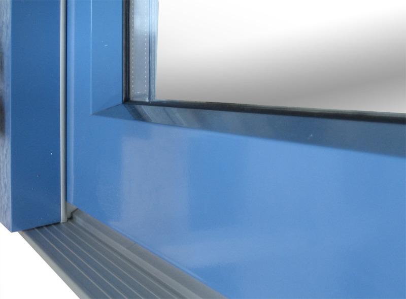 Aru grupp portes fen tres et fen tres bois aluminium for Porte ouvrant exterieur