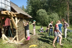 Workcamp mit internationalen Freiwilligen