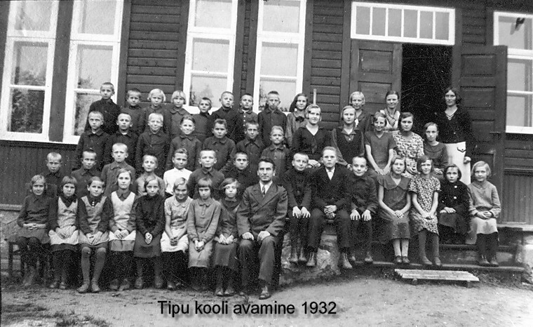 Pupils in 1932