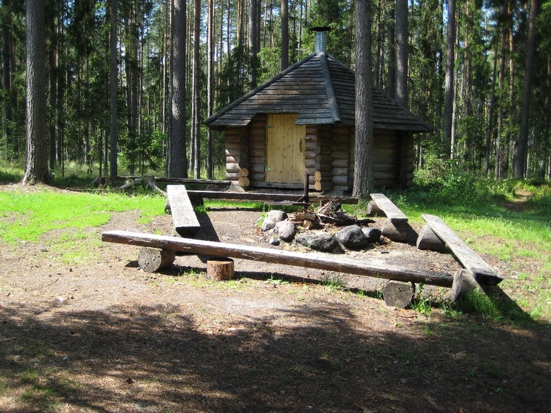 Kukemetsa forest hut in Tartu county