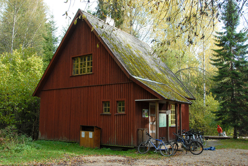 Saeveski forest hut