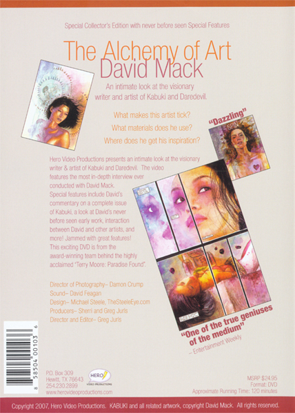 DVD Back Cover