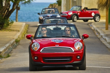 Mini Cooper tour Punta Cana