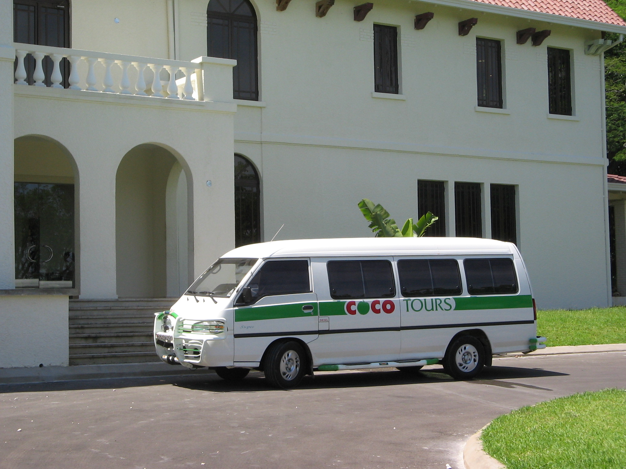 Most of our passengers on the route from Amber Cove to Amanera ride is our 6-seater vans