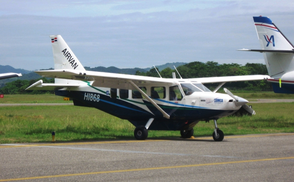 A single-engine chartered plane to take you from Samana to Puerto Plata