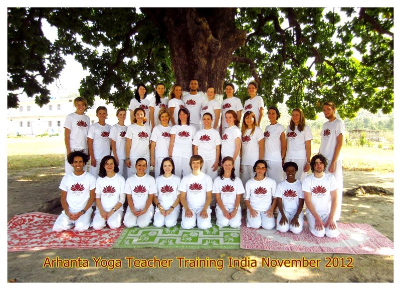 Yoga Teacher Training 2012