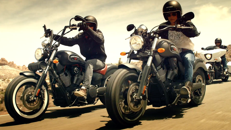 Victory Motorcycles Accessory Launch Video
