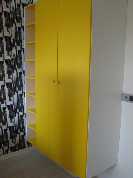 Cupboard with shelves