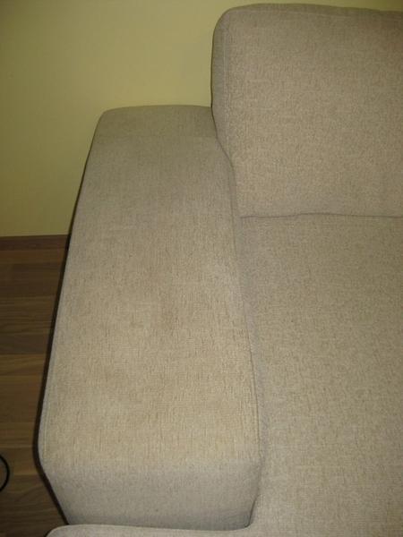 1a637699f16 Hele tekstiilist diivan peale puhastust: ENNE PÄRAST PESUVESI