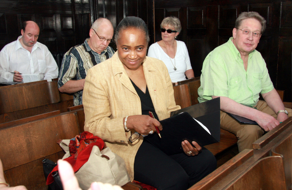 "Barbara Hendricks and ""her"" jury"