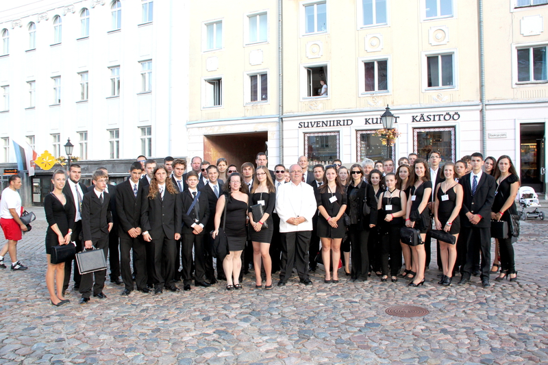 Tótkomlós youth wind symphonic band, conductor János Krcsméri (Hungary)
