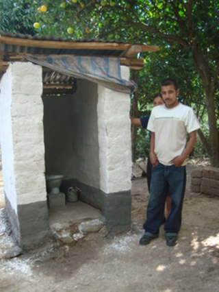 Latrine and clean water projects to promote individual and community health