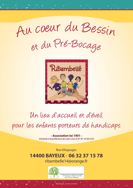 "Affiche ""Ribambelle"" 297 x 210 mm"